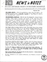 Image of May/June 1988 7 pp. (4 stapled, double-sided pages)   Includes monthly newsletter and handbill for picnic