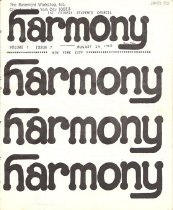 Image of August 29, 1969 Vol. 1, No. 7 16 pp.