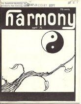Image of April 1971 Vol. 3, No. 1 28 pp.