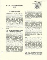 Image of C.T.W. Newsletter, 1995 Front Page