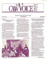 Image of Spring 1992 Vol. 1, No. 4 8 pp.