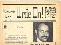 Image of October 1972 Vol. 1, No. 1 8 pp.