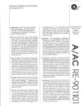 """Image of Undated article entitled """"Chinese in Chinatown and Flushing"""" by Hsiang-shui Chen, in A/AC RE-901101. Article discusses settlement, places of origin, languages spoken, geography, population, occupations, and associations. 2 maps included."""