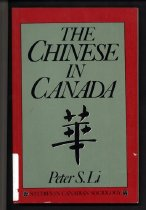 Image of 971-L - This succinct sociological analysis of the Chinese in Canada, from their arrival in 1858 to the present, focuses on the development of institutional racism against the Chinese and its impact on the Chinese community. The first section examines the history of Chinese immigration to Canada: why they came, how they were treated, and why a policy of racial exclusion was formulated against them; the major argument here is that institutional racism was a structural imperative that had little to do with cultural misunderstanding or individual idiosyncrasies. The second section deals with the impact of racism on the Chinese community, including the restriction of economic opportunities, the emergence of ethnic business, the disruption of conjugal life, and the delay of a second generation. The last section considers the occupational achievements of Chinese-Canadians in the period of industrial expansion in the 1960s and after; it focuses on the degree to which they have realized the Canadian dream of upward mobility and the kind of obstacles they have encountered in moving away from traditional service jobs into the professional sector.