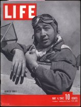 Image of Life magazine Vol.12, No. 18, May 4, 1942 with articles:  Chinese Pilots -At Arizona's Thunderbird Field they are taught lessons of aerial combat