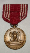 Image of WWII Army Good Conduct medal