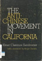 Image of 979.4-S - The anti-Chinese movement in California.