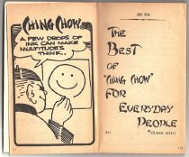 """Image of The Best of """"Ching Chow"""" for Everyday People, title page"""