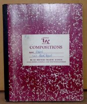 Image of Samuel S. Fung's smaller composition notebooks.