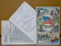 Image of Boy Scout combination set of membership and instructional cards (front)