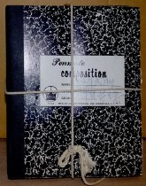 Image of Black composition books
