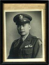 Image of Portrait of Ernest Eng in uniform