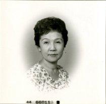 Image of Helen's passport picture, 1961