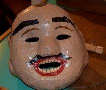 Image of Papier mache head