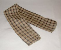 Image of Wool plaid sack