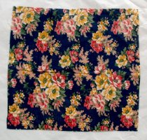 Image of Floral fabric