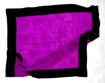 Image of Purple and black scarf