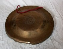 Image of Gong with red handle