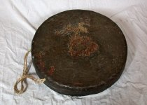 Image of Large gong with twine handle
