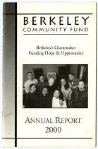 Image of Berkeley Community Fund Annual Report 2000