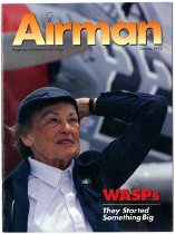 Image of Airman: Magazine of America's Airforce October 1993.  WASPs (Women Airforce Service Pilots): They Started Something Big.