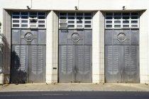 Image of Central Fire Station Doors - Door