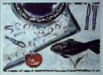 Image of Seafood and Fruit - Print