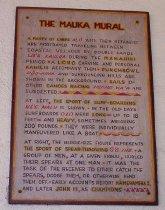 Image of The Mauka Mural Plaque - Plaque