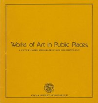 Image of City and County of Honolulu - Works of Art in Public Places