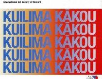 Image of International Art Society of Hawai'i - Kulima Kakou