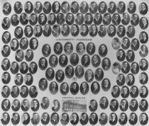 Image of U-M School of Dentistry- Dental Class Photograph Collection - 0292.1917b