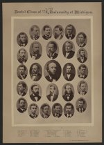 Image of U-M School of Dentistry- Dental Class Photograph Collection - 0292.1877