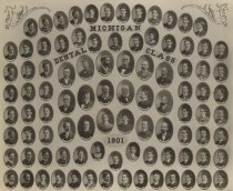 Image of U-M School of Dentistry- Dental Class Photograph Collection - 0292.1901