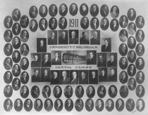 Image of U-M School of Dentistry- Dental Class Photograph Collection - 0292.1911