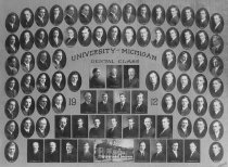 Image of U-M School of Dentistry- Dental Class Photograph Collection - 0292.1912