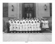 Image of U-M School of Dentistry- Dental Hygiene Class Photograph Collection - 0293.1950