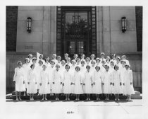 Image of U-M School of Dentistry- Dental Hygiene Class Photograph Collection - 0293.1951