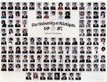 Image of U-M School of Dentistry- Dental Class Photograph Collection - 0292.1987