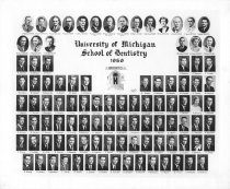 Image of U-M School of Dentistry- Dental Class Photograph Collection - 0292.1956