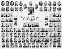 Image of U-M School of Dentistry- Dental Class Photograph Collection - 0292.1960