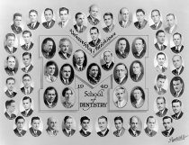 Image of U-M School of Dentistry- Dental Class Photograph Collection - 0292.1940