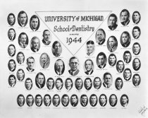 Image of U-M School of Dentistry- Dental Class Photograph Collection - 0292.1944a