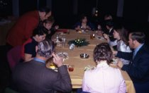 Image of People Eating Dinner