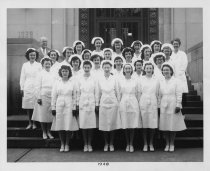 Image of U-M School of Dentistry- Dental Hygiene Class Photograph Collection - 0293.1948b