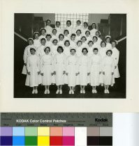 Image of U-M School of Dentistry- Dental Hygiene Class Photograph Collection - 0293.1959c
