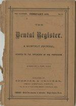Image of The Dental Register - 0966.0002