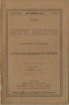 Image of The Dental Register - 0966.0011
