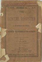 Image of The Dental Register - 0966.0012