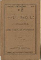 Image of The Dental Register - 0966.0014