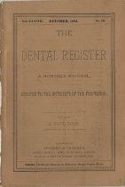 Image of The Dental Register - 0966.0022